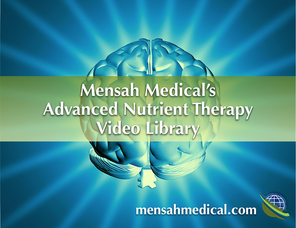 Advanced Nutrient Therapy Video Library