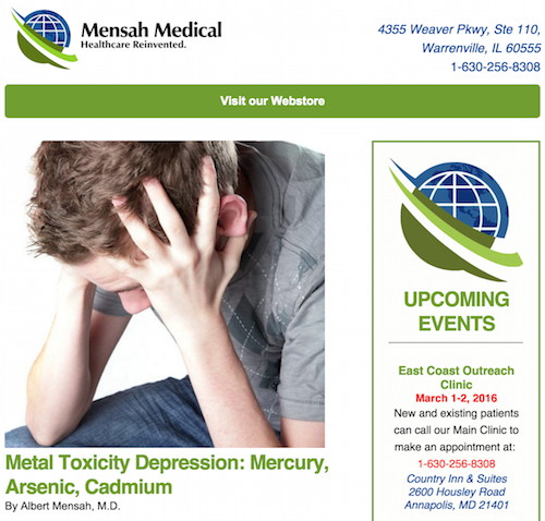 mensah medical newsletter archives icon
